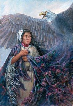 God, grant me the strength of eagle wings, the faith and courage to fly to new heights, and the wisdom to rely on His spirit to carry me there. -Native American Prayer for Serenity Native American Paintings, Native American Pictures, Native American Women, American Spirit, American Indian Art, American Indians, American Prayer, Animal Spirit Guides, Spirit Animal