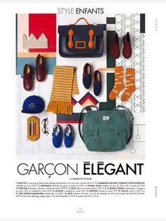 Cut&Paste Blue for Elle Deco France 2015