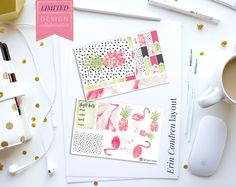 Limited Edition: Blushing Flamingo Planner Stickers – Stylish Planners