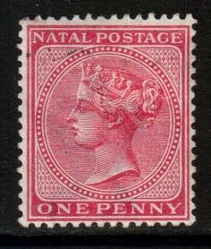 South Africa Natal Scott 67 - Rose, MH* - bidStart (item 38506741 in Stamps, British Commonwealth) Cape Colony, Crown Colony, Union Of South Africa, Kwazulu Natal, British Colonial, African History, Commonwealth, Postage Stamps, Empire