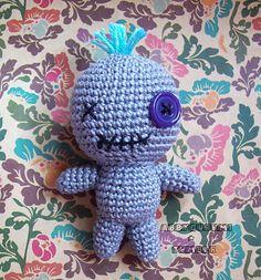 Ravelry: Amigurumi Voodoo Doll pattern by Abbygurumi