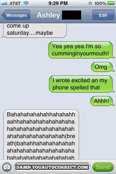 10 Hilarious AUTOTOURETTES… Autocorrects* want to laugh your ass off literally? Then read!!!!!