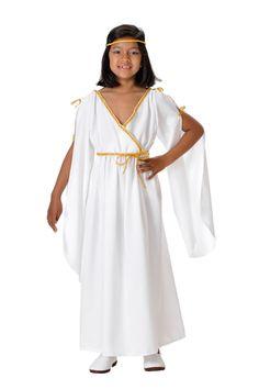 DisfracesMimo, disfraz de romana niña varias tallas. Disfruta representando a personajes de las película más míticas sobre la Antigua Roma en Fiestas Temáticas. Este disfraz es ideal para tus fiestas temáticas de disfraces romanos y egipcios infantil. fabricacion nacional