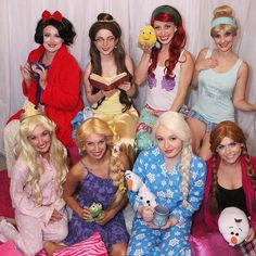 Hosting a sleepover? Our Pajama Princesses would LOVE to come! Book any of our princesses in their pajama attire and save 10% when you mention this post  #girlygirlparteas #PajamaPrincesses #princessparty #sleepover