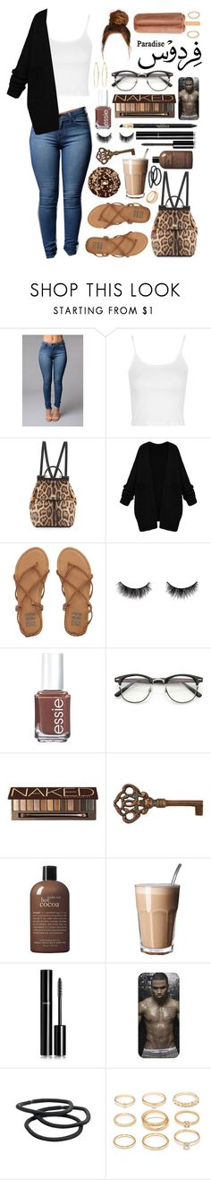 """Paradise."" by dyciana ❤ liked on Polyvore featuring Topshop, Dolce&Gabbana, Billabong, shu uemura, Essie, Urban Decay, philosophy, Chanel, Goody and Forever 21"
