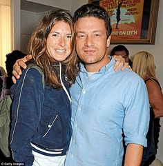 Going strong: The couple met in 1993 and tied the knot in before welcoming their first daughter two years later. Jools conceived her first child using IVF but had the other three naturally Jools Oliver, Jamie Oliver, First Daughter, Nigella, Cute Couples, Knot, The Outsiders, Pride, Celebrity