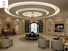Choose from the largest collection of Latest False Ceiling Design & Decorating Ideas to add style. Discover best False Ceiling inspiration photos for remodel & renovate, here. Gypsum Design, Gypsum Ceiling Design, House Ceiling Design, Ceiling Design Living Room, False Ceiling Living Room, Bedroom False Ceiling Design, Ceiling Light Design, Home Ceiling, House Design