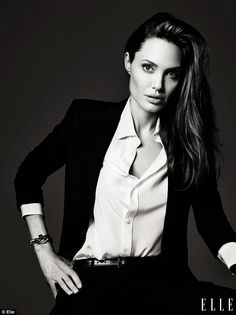 Angelina Jolie has opened up about her personal life in a rare interview with ELLE magazine
