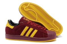 fb83f362ab59 2012 New Adidas Superstar 2(II) Mens shoes Wine Red Sneakers Schuhe, Adidas