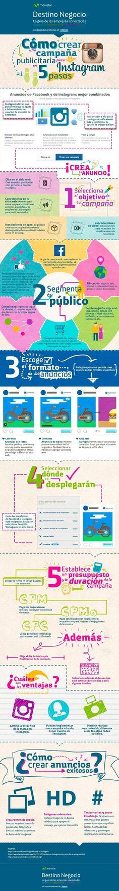 Infografia publicidad en Instagram