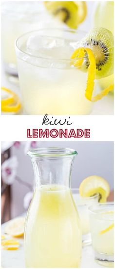 Sweet and sour, cool and refreshing, nothing beats a coldglass of refreshinglemonade on a hot summer day. Try this kiwi lemonade for a refreshing tangy change!