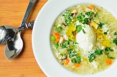 Permalink to: Seeking Comfort through Soup: Grandma's Chicken Soup (Canja de Galinha). Quick Easy Meals, Easy Dinner Recipes, Soup Recipes, Great Recipes, Favorite Recipes, Easy Recipes, Recipies, Chicken Rice Soup, Healthy Snacks