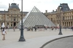 The Louvre been there with Margie