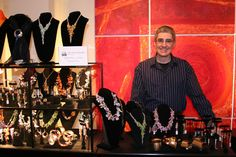 John S Brana - Handcrafted Art Jewelry - Opening Night - The ArtPeople Gallery