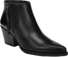 1c2fd012dfe3 Women s Sam Edelman Walden Ankle Bootie - Black Modena Calf Leather with FREE  Shipping  amp