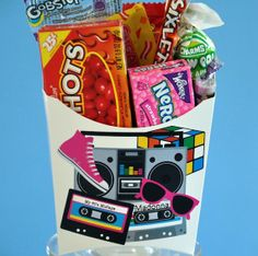 I Love The 80's  Party Favor  GLAMOROUS by glamoroussweetevent, $18.00