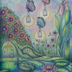Finished my Skymning/ Dusk picture with @megchelsea_how magical help ❤❤❤ thanks for all your advice! #mariatrolle #vivisökerenvän #skymningstimman #colouring #coloring #colouringforadults #magicalcoloring #beautifulcoloring #bayan_boyan #fangcolourfulworld #coloring_masterpieces #coloring_secrets #art #arte_e_colorir #artecomoterapia #arteantiestresse #målarbok #målarböckerförvuxna #wonderfulcoloring #polychromos #carandacheluminance #luminance #carandache #poscapen