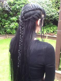 Gorgeous Elven-inspired hair
