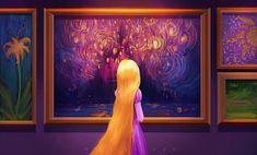 Rapunzel by Maxine Vee Disney Dream, Cute Disney, Disney Magic, Disney Rapunzel, Film Disney, Non Disney Princesses, Disney Fan Art, Disney Princess Art, Disney E Dreamworks