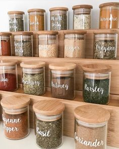 I've started doing a complete pantry makeover . which is one of my favourite. I've started doing a complete pantry makeover . which is one of my favourite things to do 😂 the first area in our pantry I've re-done is…, Kitchen Organization Pantry, Spice Organization, Home Organisation, Diy Kitchen Storage, Kitchen Pantry, Kitchen Decor, Kitchen Ideas, Pantry Ideas, Organizing