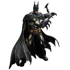 Batman Arkham Asylum Armored Batman Play Arts Kai Figure