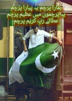 The Pakistani Flag looks Beautiful! Pakistan Photos, Pakistan Zindabad, Pakistan Fashion, Pakistan Travel, Islamabad Pakistan, Pakistan Defence, Pakistan Armed Forces, Pakistan Independence Day Quotes, Happy Independence