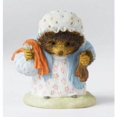 Border Fine Arts - Beatrix Potter - Mrs Tiggy Winkle with Laundry ...
