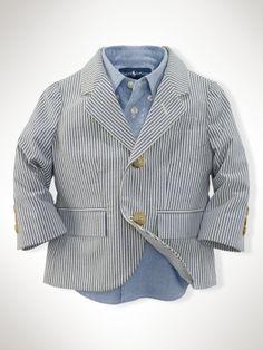 Ralph Lauren seersucker blazer