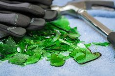 How to Make Glass Mulch (with Pictures) | eHow