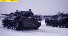 Leopard 1A1 beim Schießtraining
