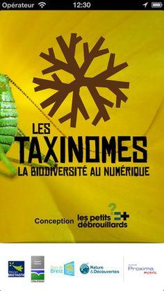 Les Taxinomes par Les petits débrouillards Bretagne #app #science #participative