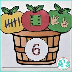 Four Apples & Math Busy Boxes | Mrs. A's Room