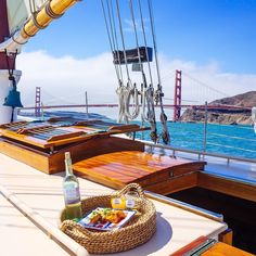 Somehow the already beautiful view gets a little bit nicer once aboard a luxury sailboat. Photo courtesy of Instagram's esteeveeen.