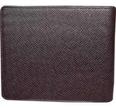 Louis Vuitton Dark Brown Taiga Leather Mult Cartera Mens Wallet . - Brought to you by Avarsha.com