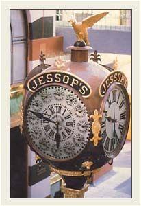 Jessop's Jewelers Street Clock, San Diego, California