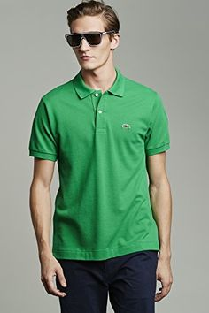 508acbe4b5 Lacoste classic fit Short Sleeve Classic Pique Polo in kelly green. Size  XXL. Lacoste