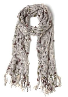 Clouds Over the Clearing Scarf, #ModCloth