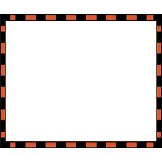 worldlabel.com border orange Black 4x3.3 ❤ liked on Polyvore featuring frames, backgrounds, halloween, borders and picture frame