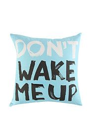 SLOGAN SCATTER 40X40CM Wake Me Up, Slogan, Spring, Collection
