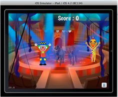 The clown town iPad game is a fun game. It's a Complete time killer game.