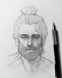 Fabulous Drawing On Creativity Ideas. Captivating Drawing On Creativity Ideas. Sketches Of People, Drawing People, Realistic Drawings, Art Drawings Sketches, Pencil Portrait, Portrait Art, Life Drawing, Figure Drawing, Human Face Drawing