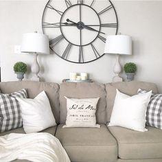 Farmhouse style living room, modern farmhouse living room by Julie Warnock Interiors
