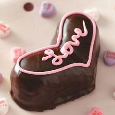 Valentine Heart Cakes Recipe from Taste of Home