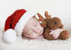 newborn baby christmas pictures ideas