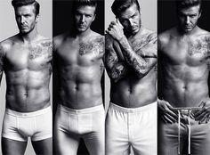 David Beckham in underwear ad. Enough said.