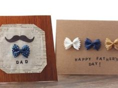 Father' Day Bow Tie Card {Father's Day DIY Cards}