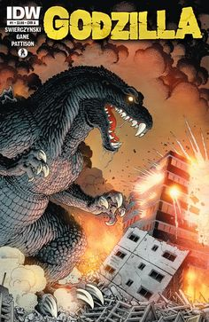 Comic Book Review: 'Godzilla' #1