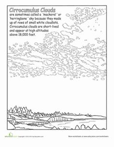 Learn your clouds with this coloring series of cloud types that merges science with coloring fun.