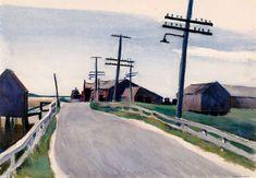 Edward Hopper - Wellfleet Road, 1931