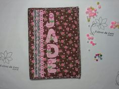 Capa de caderneta floral